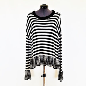 NWT - Cinq à Sept Stripe Sweater Seren Pullover